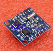 цена на 5PCS I2C RTC DS1307 AT24C32 Real Time Clock module without battery diy electronics