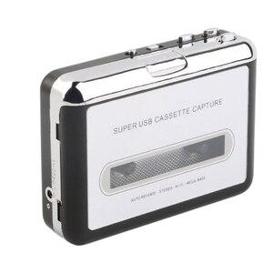 Image 2 - 1 조각 USB 카세트 테이프 MP3 PC 변환기 스테레오 오디오 플레이어