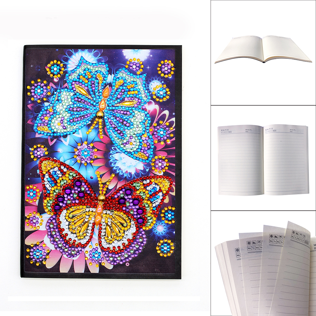 Hot Offer 041b Azqsd Diamond Painting Notebook Special Shaped