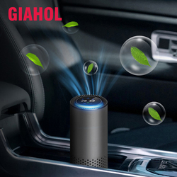GIAHOL Intelligent HEPA Air Purifier Car/Nature Fresh Air Purifier best for Car Home Office Auto Accessories for Travel Purifier