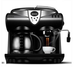 1 5l biurowy automatyczny ekspres do kawy Expresso amerykański ekspres do kawy ekspres do kawy bańka parowa spieniacz do mleka 20bar LCD piargi w Maszyny do kawy od AGD na