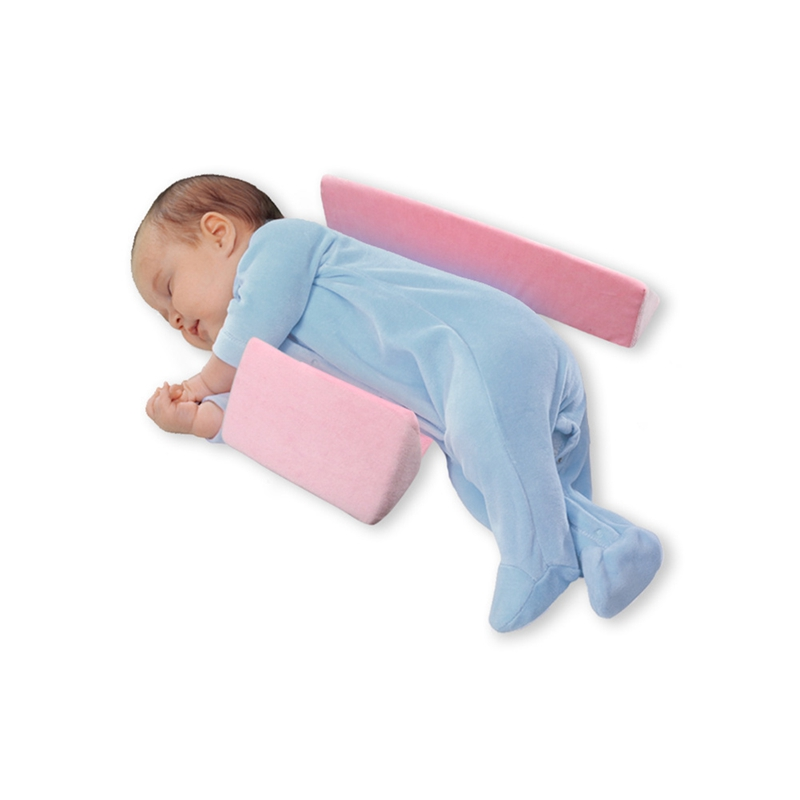 Baby Bedding Care Side Sleeper Pillow Adjustable Memory Foam Support Infant Sleep Positioner Prevent Flat Head Shaping Pillow