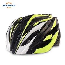 цена на Skybulls Brand Ultralight Bike Helmets For Adults Cycle Safety Cap Cycling Helmet Men Road Bicycle Helmet Outdoor Sports 58-62cm