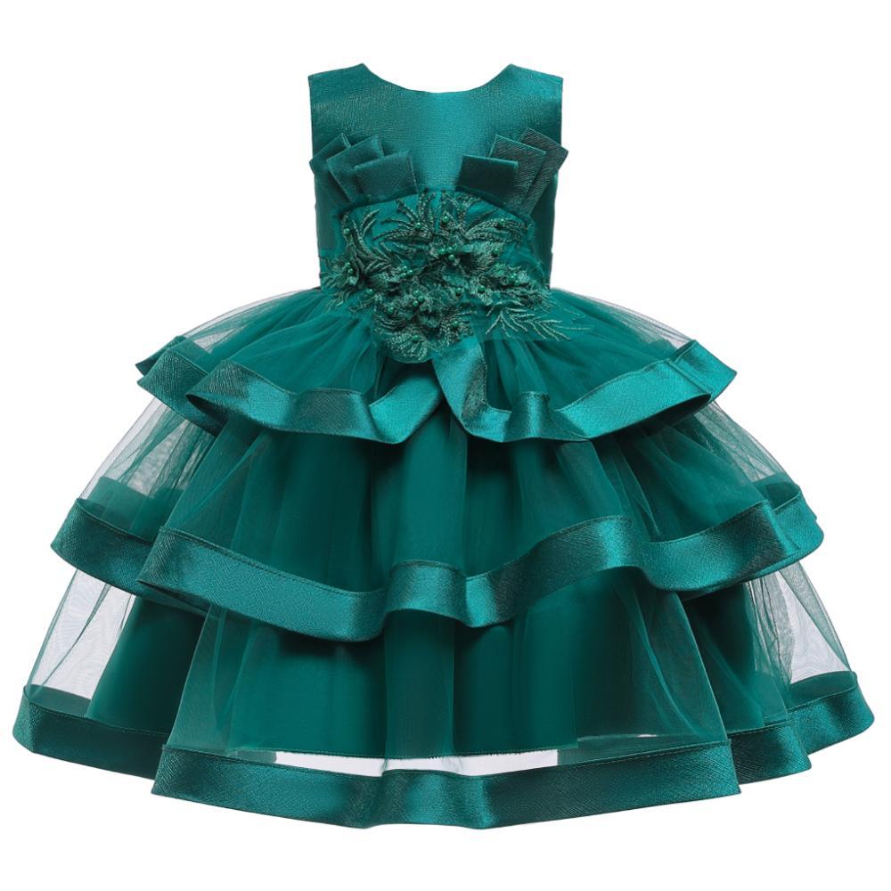 Girls Dress Elegant New Year Princess Children Party Dress Wedding Gown Kids Dresses for Girls Birthday Party Dress Vestido Wear 15