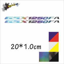 Autocollant réfléchissant pour casque de Moto, couleur laser noir carbone, autocollant pour GP Rossi adapté pour gsx1250fa GSX1250FA