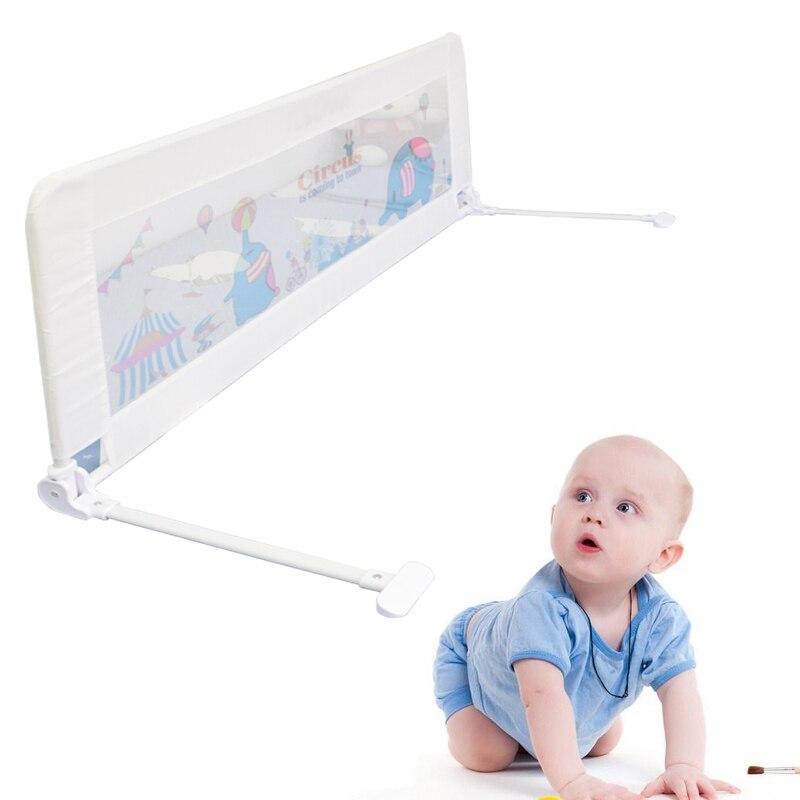 TUSUNNY ограждение для детской кровати Домашний детский манеж защитные ворота товары для ухода за детьми барьер для кроваток кроватки ограждение для безопасности детей - Цвет: 1.5M white