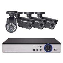 Defeway 1080n 8 канальный видеорегистратор 4 шт 720p ahd цилиндрическая