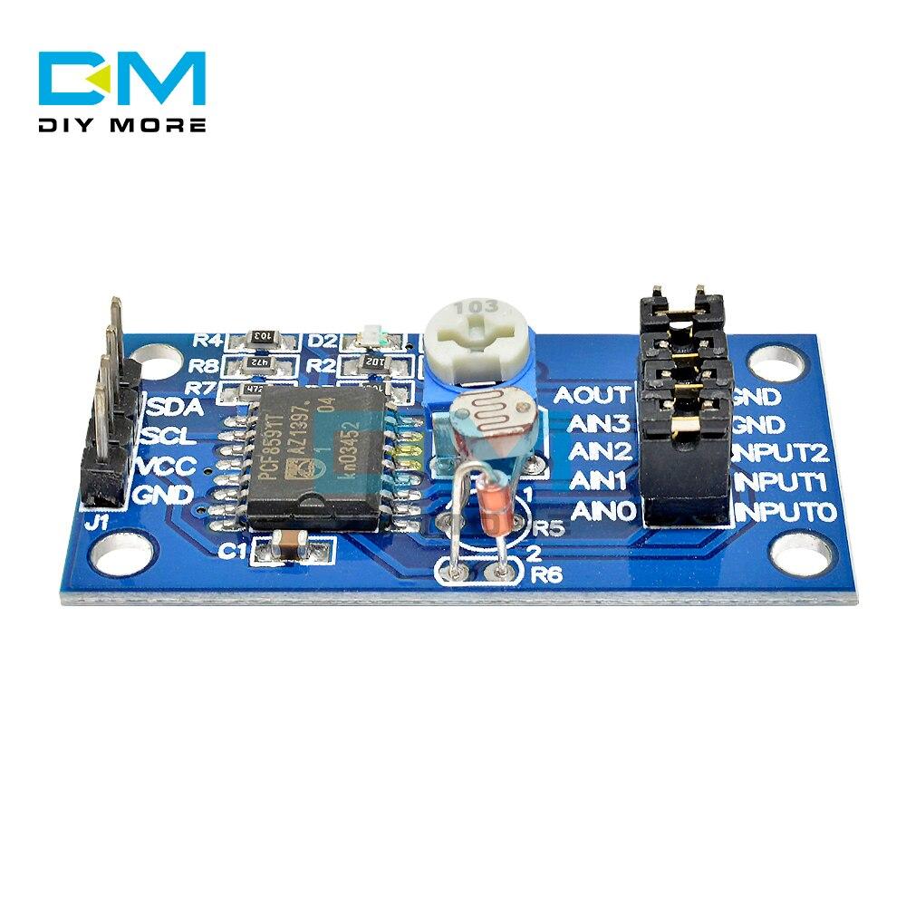 1PCS AD//DA PCF8591 Converter Module for Arduino Raspberry pi