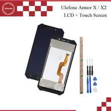 Ocolor עבור Ulefone שריון X2 LCD תצוגת מסך מגע 5.5 אינץ טלפון נייד אביזרי עבור Ulefone שריון X + כלים + דבק