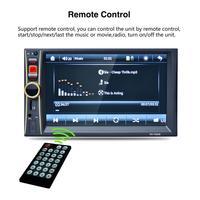 Mobil Radio Player Stereo MP5 Mobil Audio USB AUX TF Di Dash FM Auto Radio dengan Rear View Kamera remote Control