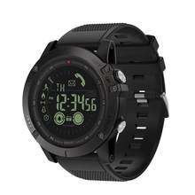 Zeblaze VIBE 3 Flagship Smartwatch Weather Monitoring Smart Watch 1.24inch BT 4.0 Waterproof Sports Watch For IOS Android Phones(China)