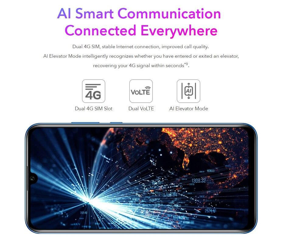 Global Version Honor 20 Lite 4GB 128GB Front 32MP Kirin 710 Octa Core Smartphone  (13)