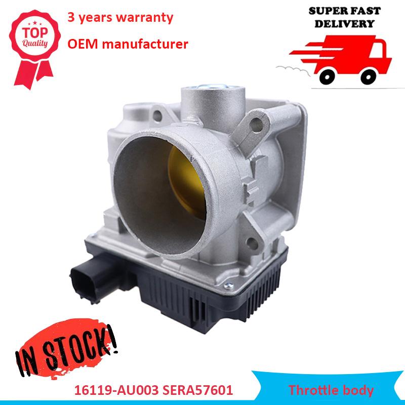 16119-AU003 SERA576-01 Throttle body Assembly ETB0003 Fits For Nissan Primera Sentra Almera Altima 1.8L Quest Maxima 350Z 3.5