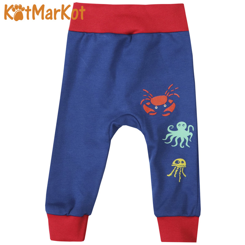 Фото - Pants & Capris Kotmarkot 75304 baby  childhood newborn clothes sliders footies Cotton Baby Boys pants baby shaluni