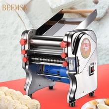 Máquina elétrica de macarrão de aço inoxidável, para massas, cortador de massa, manequim, máquina de macarrão, prensa 220v eu plug