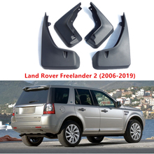 For Land Rover Front Rear Mudguards mud flaps Freelander 2 Splash car Fender Guards 4 PCS