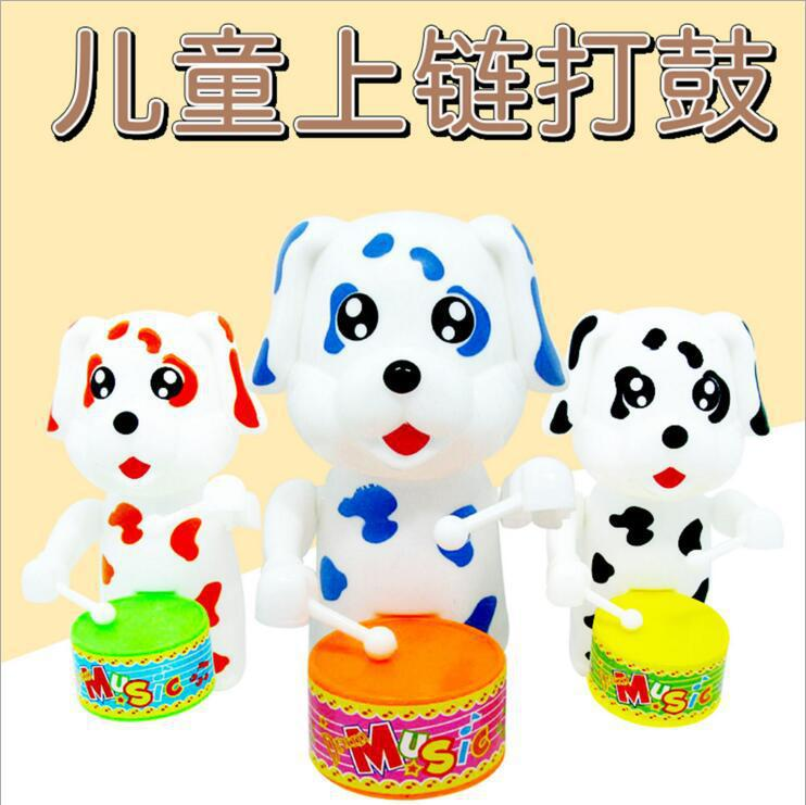 Winding Spring Drum Toy Rabbit Drum Strange New Wind-up Toy Hot Selling Gift