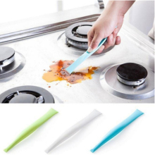 3-color multi-function stove dirt decontamination scraper bottle opener kitchen bathroom cleaning tool