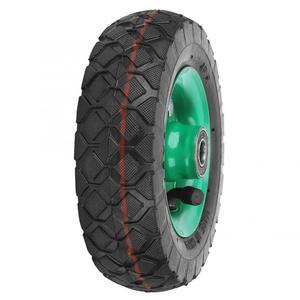 Image 4 - Şişme lastik aşınmaya dayanıklı 6in tekerlek 150mm lastik endüstriyel sınıf aracı arabası arabası lastik tekeri 250kg değiştirilebilir iç tüp
