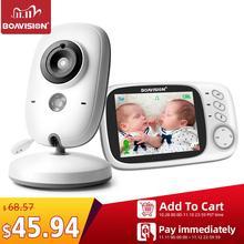 VB603 Video Trẻ Em 2.4G Không Dây Với 3.2 Inch LCD 2 Chiều Thảo Luận Nhìn Xuyên Đêm Giám Sát Camera An Ninh sắm Đồ Sơ sinh