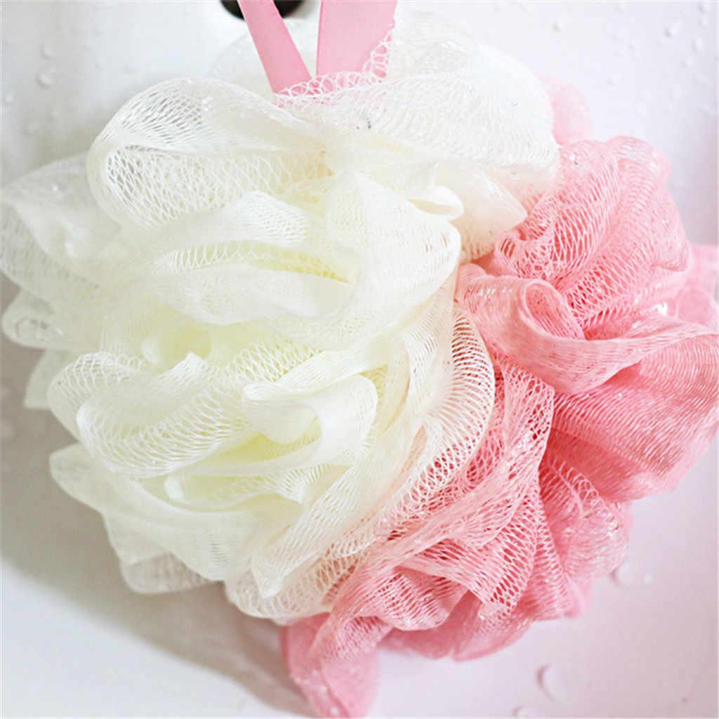 Éponge de brosse de corps de gant de toilette pour des bains d'éponge de douche de corps