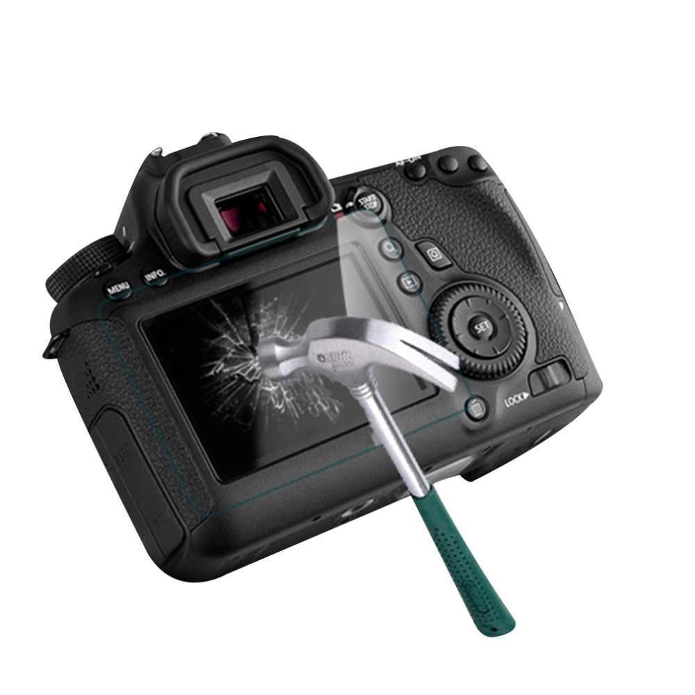 Camera Quang Kính Cường Lực Màn Hình LCD Bảng Điều Khiển Bộ Phim Bảo Vệ 0.4 Mm HD Bảo Vệ Bảo Vệ Chống Thấm Nước Dành Cho Canon 550D 60D 600D