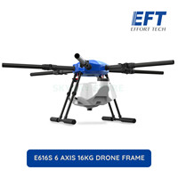 NEW EFT E616S 6 Axis 16L spraying gimbal system Folding Quadcopter Spray pump Agriculture drone