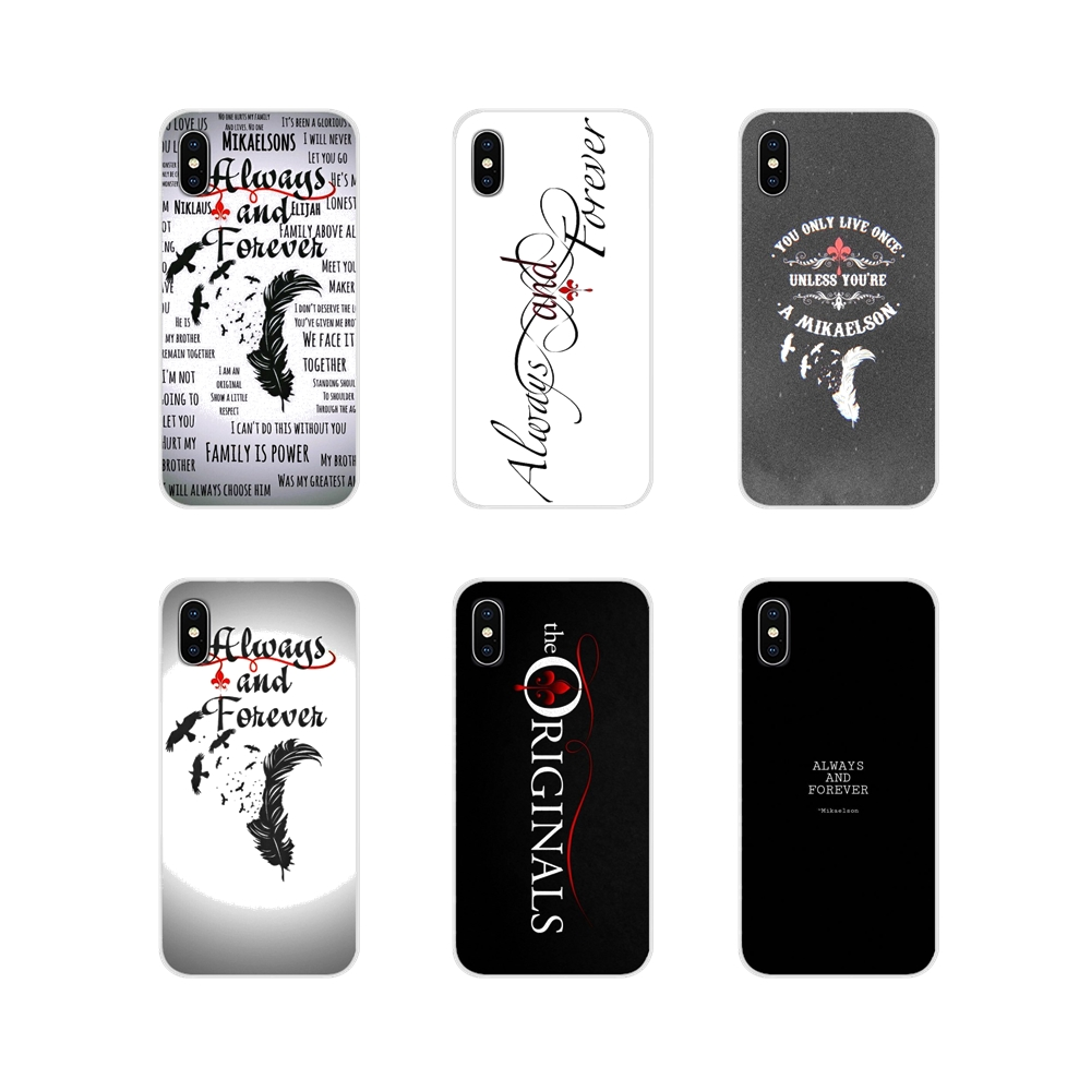 Cell Phone Cases Cover Always and Forever The Vampire Diaries For Samsung Galaxy A3 A5 A7 A9 A8 Star A6 Plus 2018 2015 2016 2017 image