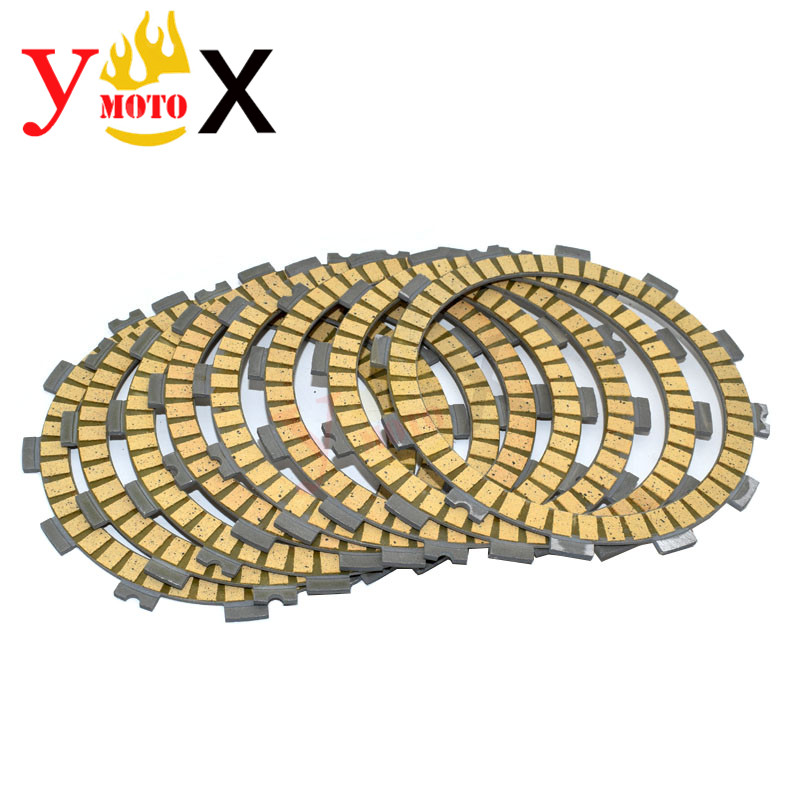 GSX-R1000 8PCS/Set Motorcycle Clutch Friction Discs Plate <font><b>Kit</b></font> For <font><b>SUZUKI</b></font> <font><b>GSXR1000</b></font> GSX-R GSXR 1000 2005-2008 2006 K5 K6 K7 <font><b>K8</b></font> image