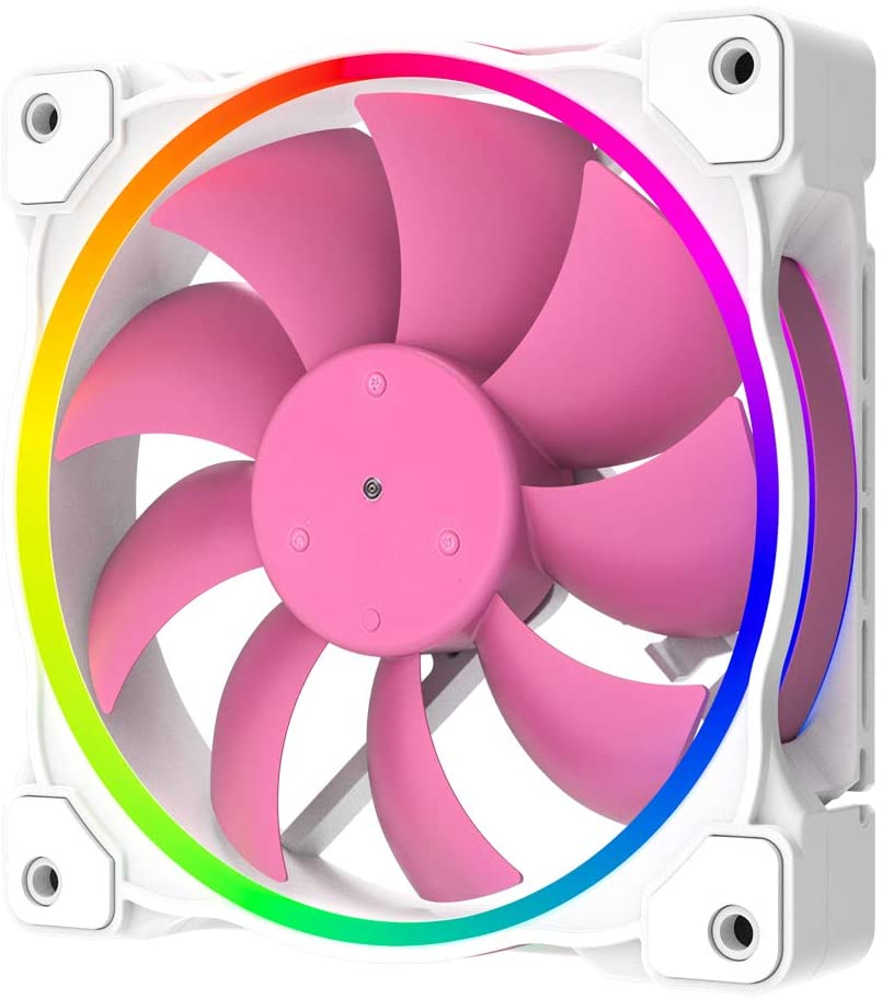 ID-охлаждение, внешний вентилятор 120 мм, 5 В, 3 контакта, Модифицируемый RGB охлаждающий вентилятор MB Sync, 4 контакта PWM, вентиляторы управления ско...