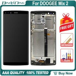 Image 2 - 100% Nguyên Bản Cho DOOGEE Pha 2 Màn Hình LCD & Bộ Số Hóa Màn Hình Cảm Ứng Có Khung Màn Hình Hiển Thị Màn Hình Module Sửa Chữa Thay Thế Phụ Kiện Mix2