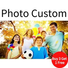 BANMU Customized Wall Paintings Print Your Personal Photo on Canvas Painting Poster Wall Art Picture Home Decor House Decoration