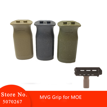 Airsoft Tactical MVG MOE Grip For AEG GBB Paintball Accessory Hunting MOE Style Vertical Grip Front Grip