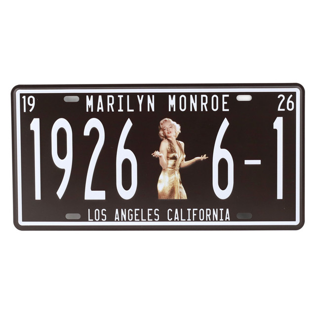 Retro Vintage Metal Plate 4