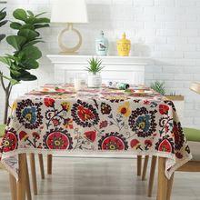 Скатерть с подсолнухами столовая скатерть цветная мягкая льняная