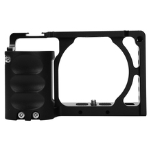 Durable Aluminum Alloy Video Camera Cage + Hand Grip Kit Film Making System with