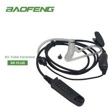 방수 워키 토키 헤드셋 이어폰 BAOFENG 워키 토키 은밀한 공기 음향 튜브 헤드셋 UV XR A 58 UV9R 플러스