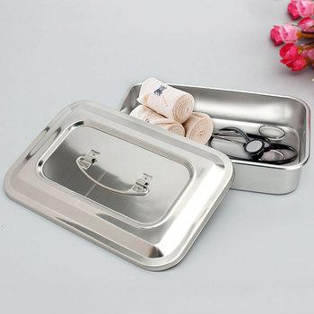 Стоматологический лоток для инструментов из нержавеющей стали хирургическое медицинское оборудование стерилизатор контейнер для инструментов для стоматолога ящик для хранения инструментов