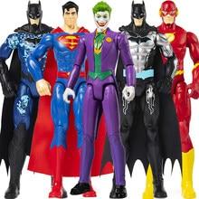 30cm dc liga da justiça superman o coringa flash batman riddler nightwing shazam bat-tecnologia batman boneca de ação de brinquedo para criança