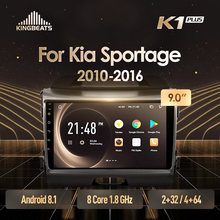 KingBeats Android 8.1 Octa-Core head unit 4G in Dash Car Radio Multimedia Video Player Navigation GPS For Kia Sportage 3 SL 2010-2016 no dvd 2 din Double Din Android Car Stereo 2din DDR4 2G RAM 32G ROM / 4+64G(China)