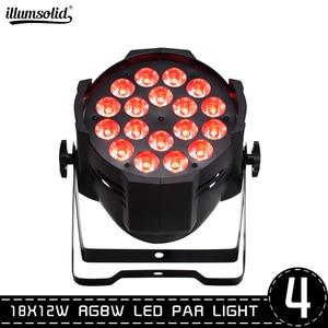 4pcs/lot LED PAR 64 18x12 Watt