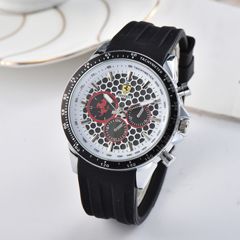 Genuine FERRARI WORLD Top Quality Men's Watches Fashion Watches Luxury Sports Racing Tide Brand Men And Women Couple Watches