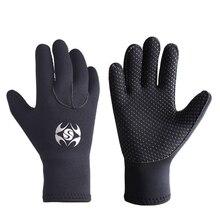 Открытая плавательная Дайвинг перчатки 3 мм неопрен; Нескользящие теплые мужского и женского пола для дайвинга перчатки для дайвинга подво...