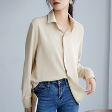 Korean Chiffon Shirts Women Solid Blouse Shirt Plus Size Blusas Mujer De Moda 2020 Woman Long Sleeve Blouse Shirts Camisas Mujer