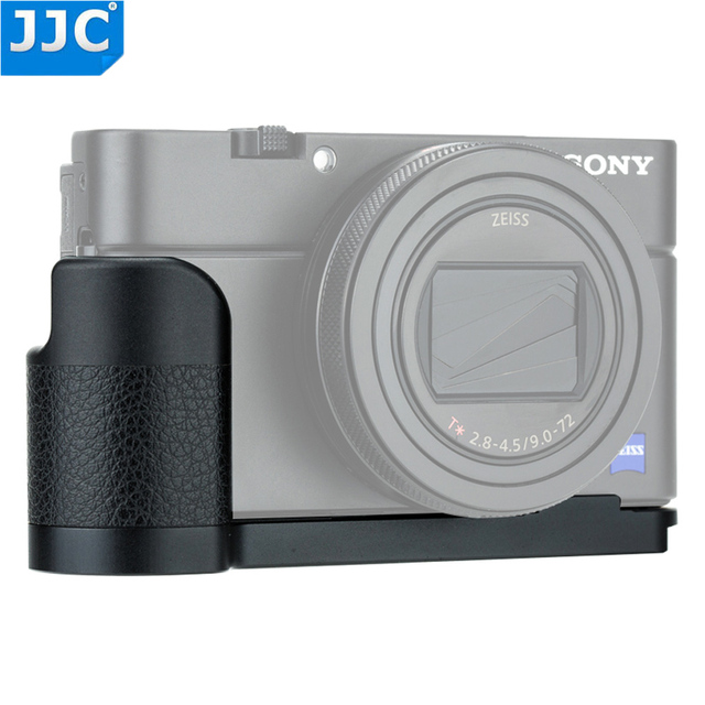JJC Quick Release L Plate Hand Grip For Sony RX100 VI RX100 VA RX100 V RX100 IV RX100 III RX100 II Replaces Sony AGR2 Holder