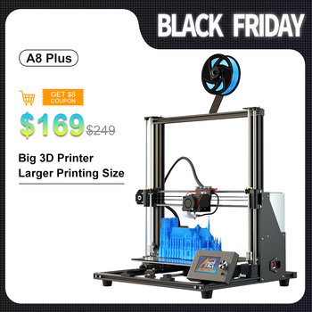 Anet A8 Plus 3D Printer Kit With High Precision Exturder And Hotend Reprap Prusa i3 with PLA 10m Filaments 3D Drucker anet a8 a3 a6 3d printer part control board motherboard mainboard v1 5 repra prusa i3 3d printer