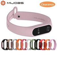 Correa de silicona para Xiaomi Mi Band 2, repuesto de accesorios para pulsera inteligente Mi Band 2