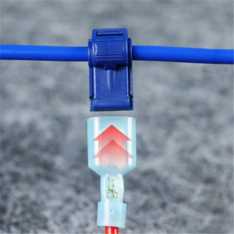 Quick Electrical Cable Connectors Snap Splice Lock Wire Terminal ...