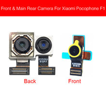 Front & Rear Camera Module For Xiaomi MI Pocophone Poco F1 Main Back Big And Facing Small Camera