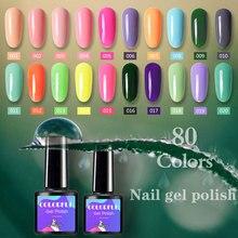 7.5ml UV gel nail polish Nail Art Vernis Semi Permanant Led Extension Gel Holographic Polish Gellack top coat